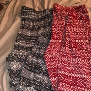 """2 pair of maurices leggings. Size """"0""""."""